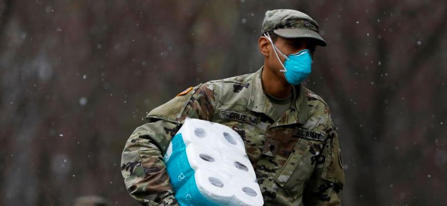 Koronavirüs ABD ordusunda yayılıyor