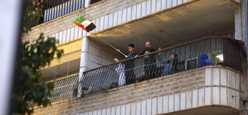 Koronavirüs nedeniyle evden çıkamayan Filistinlilerden İsrail'e 'online' protesto