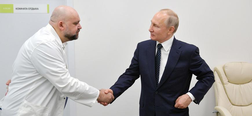 Rusya'da Putin ile görüşen bir doktorda koronavirüse rastlandı