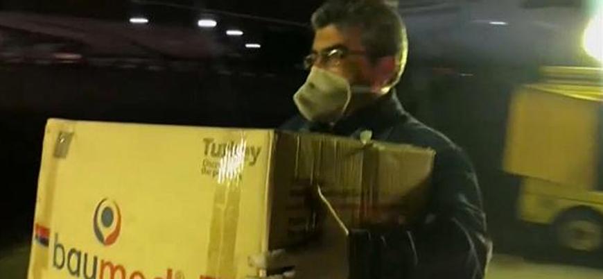 Koronavirüs: Türkiye'den İran'a tıbbi ekipman yardımı