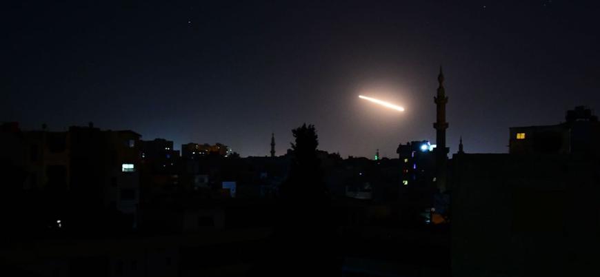 İsrail Suriye'de İran bağlantılı grupları vurdu