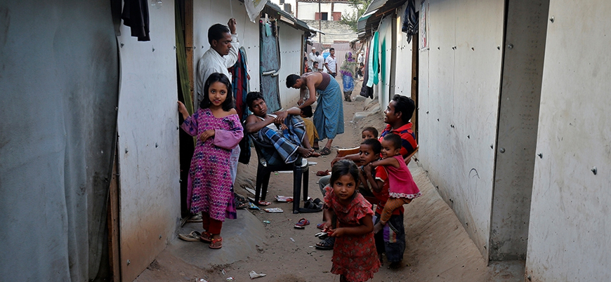 Hindistan'daki Arakanlı Müslümanlar açlık ve koronavirüs tehdidiyle karşı karşıya
