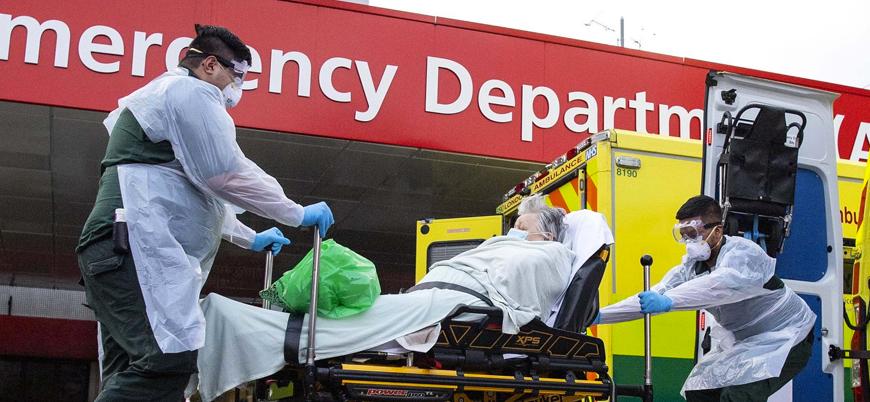 İngiltere'de can kaybı bir günde 563 artarak 2 bin 352'ye yükseldi