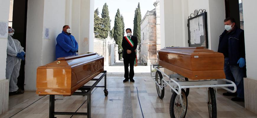İtalya'da koronavirüs nedeniyle ölenlerin sayısı 14 bine yaklaştı