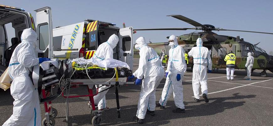 Fransa'da koronavirüs nedeniyle ölenlerin sayısı 5 bini aştı