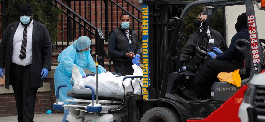 Koronavirüs: ABD'de ölü sayısı 8 bin 500'ü geçti