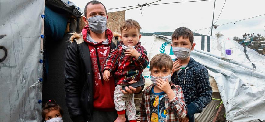 Yunanistan'da bir göçmen kampı daha karantinaya alındı