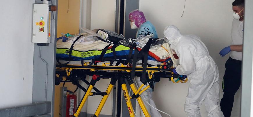 Fransa'da koronavirüs nedeniyle ölenlerin sayısı 8 bin 911'e yükseldi