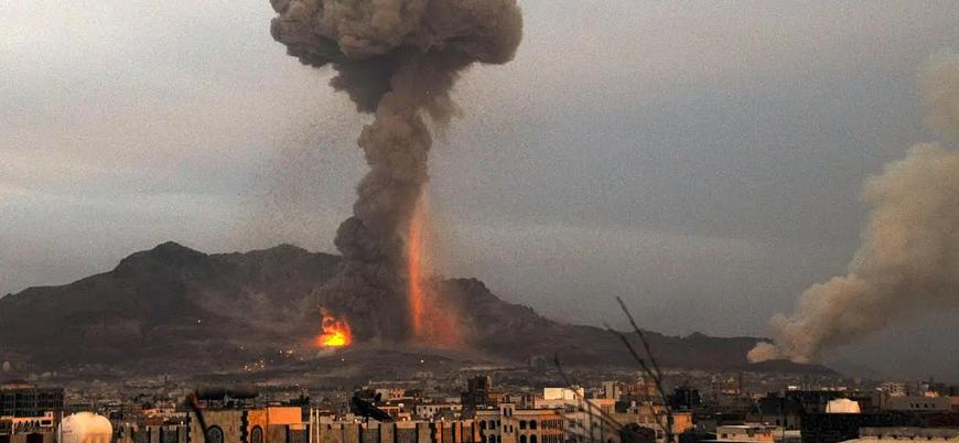 """""""Suudi Arabistan Yemen'de  bir günde 50 hava saldırısı düzenledi"""""""