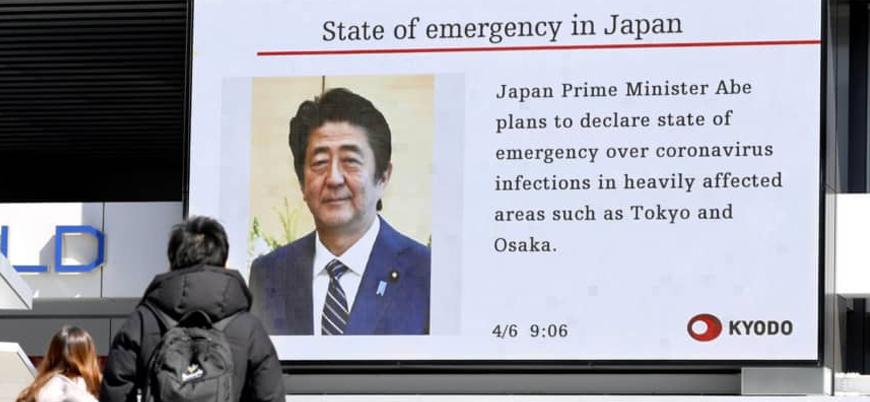 Japonya'da koronavirüse karşı olağanüstü hal ilan edildi