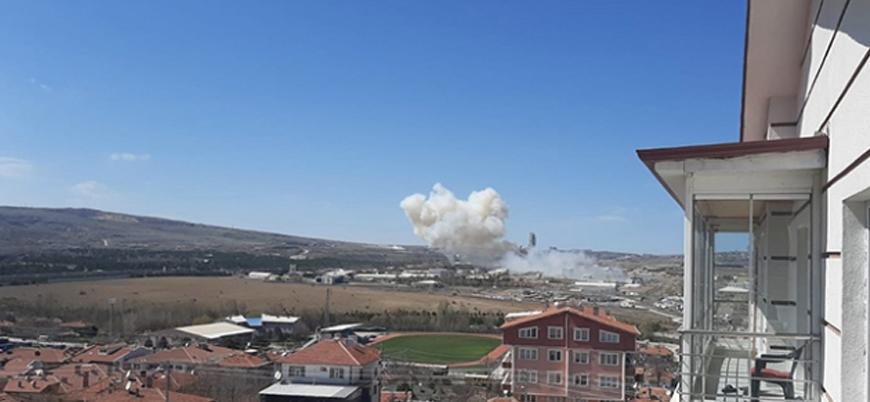 Roketsan'ın Ankara tesislerinde patlama