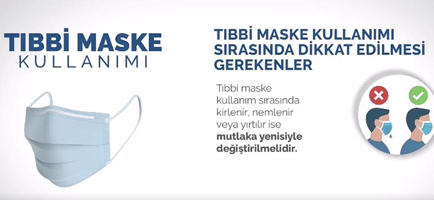 Sağlık Bakanlığı: Tıbbi maske nasıl kullanılır?
