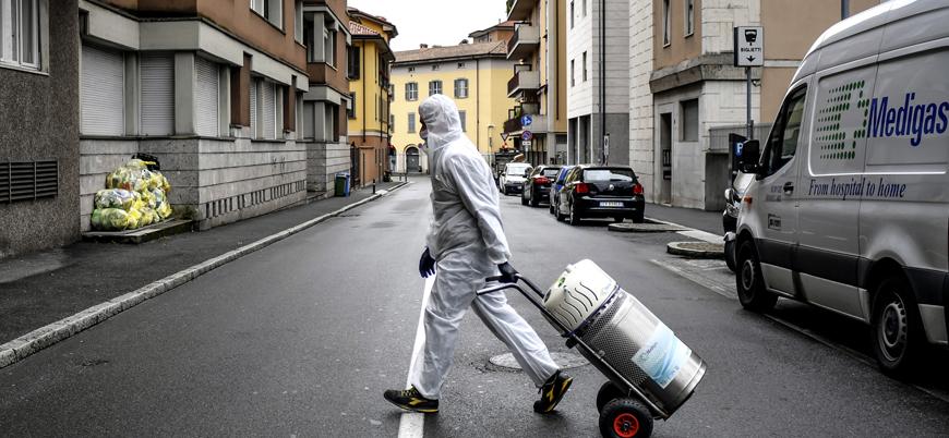 İtalya'da koronavirüs nedeniyle ölenlerin sayısı 17 bin 127'ye yükseldi