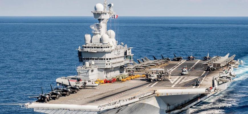 Koronavirüs: Fransız uçak gemisi Ortadoğu'daki görevini yarıda kesti