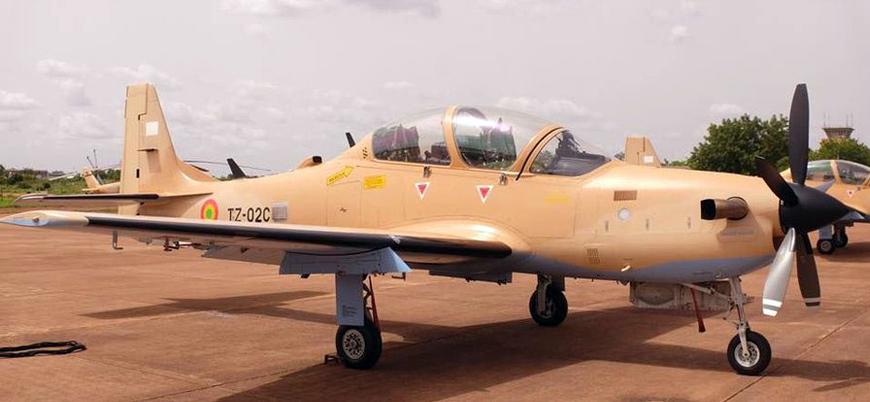 Mali'de askeri hava aracı düştü: 2 ölü