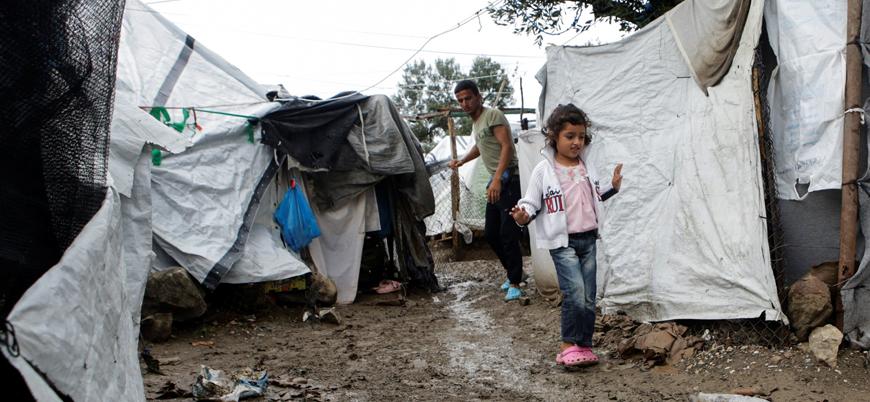 Yunanistan'daki mülteci kamplarında 28 koronavirüs vakası görüldü