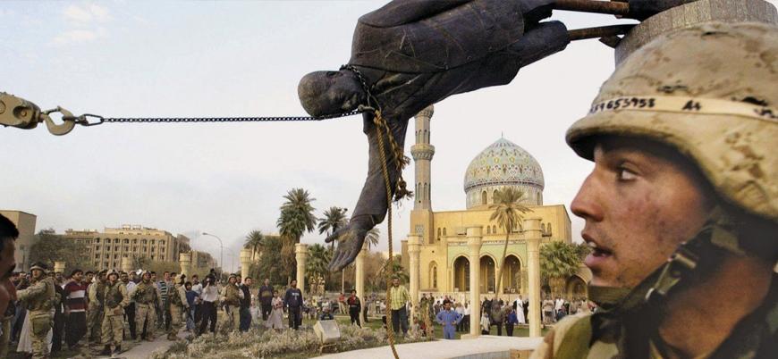 Amerikan ordusu 18 yıl önce Bağdat'ı işgal etti