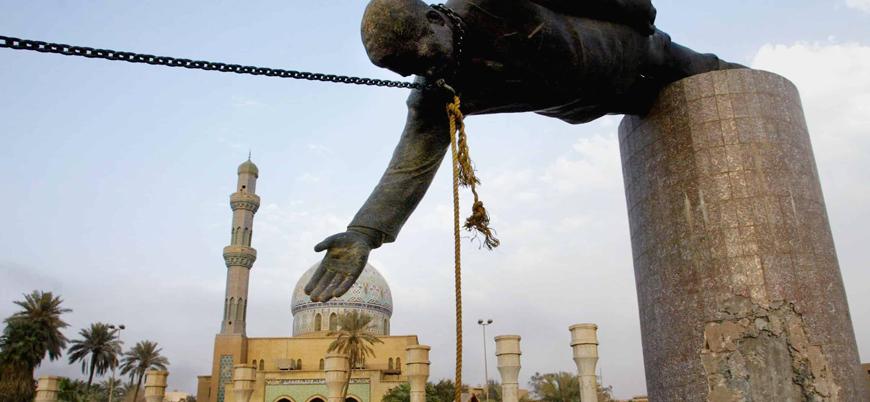 """Saddam heykelini yıkan Iraklının pişmanlığı: """"Bir Saddam gitti, bin Saddam geldi"""""""