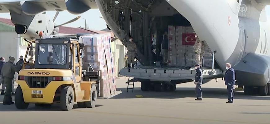 Türkiye'de İngiltere'ye tıbbi yardım