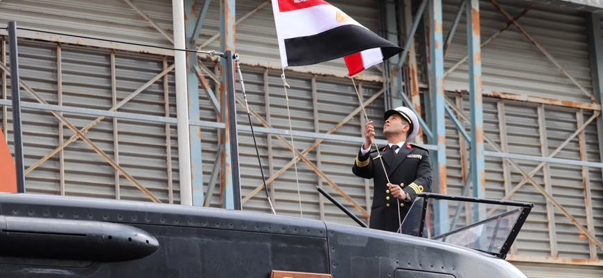 Almanya'dan Mısır ordusuna denizaltı teslimatı