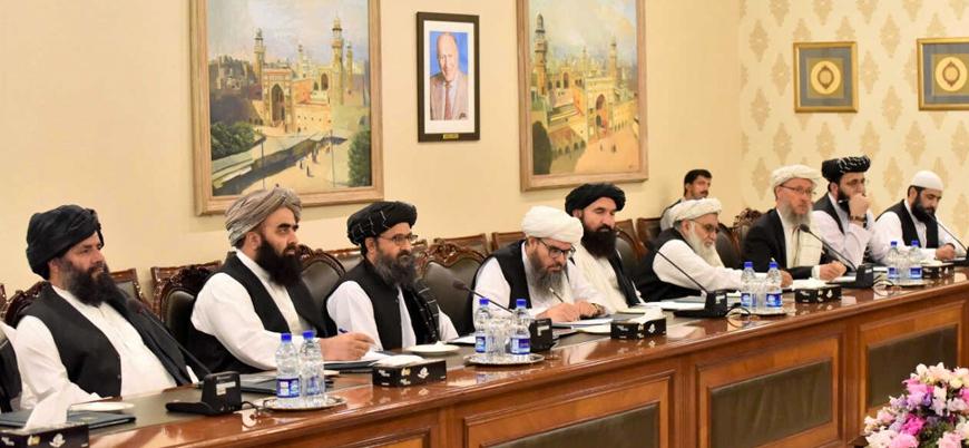 Taliban ile Amerikan heyeti görüştü: ABD'ye 'anlaşmaya uyun' çağrısı