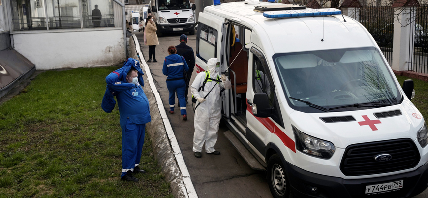 Rusya'da koronavirüs vakalarında patlama yaşanıyor