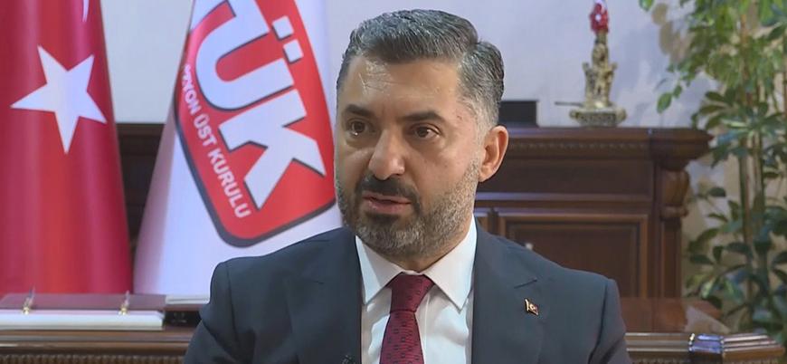 RTÜK Başkanı Şahin'den Netflix açıklaması: Uyardık, gözümüz üzerlerinde