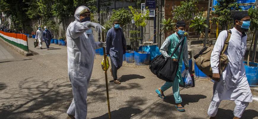 Hindistan'da radikal Hindu çeteler 'virüs yaydıkları' bahanesiyle Müslümanlara saldırıyor