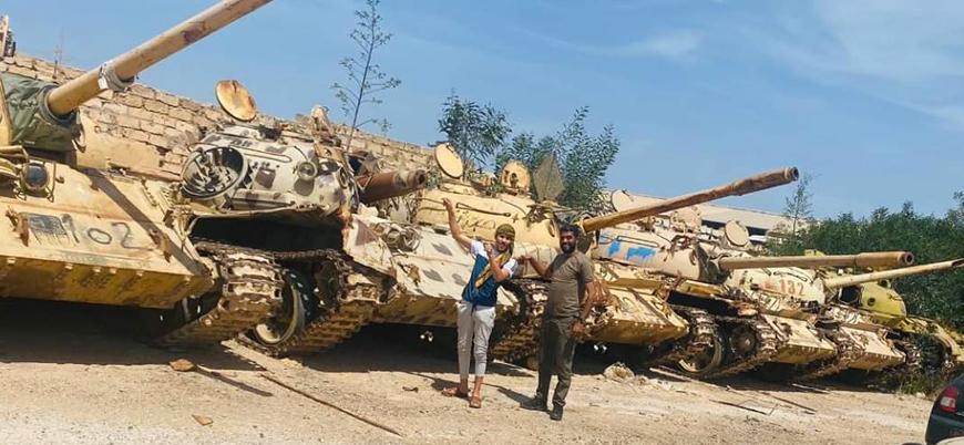 Libya'da Türkiye destekli UMH güçleri Hafter kontrolündeki Sabrata'yı ele geçirdi