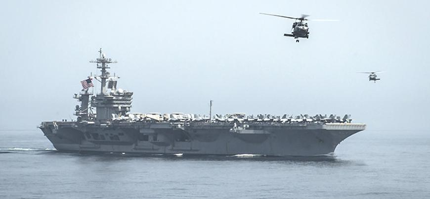 ABD'nin USS Theodore Roosevelt uçak gemisinde koronavirüsten ilk ölüm
