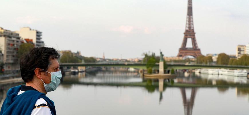 Fransa'da son 24 saatte koronavirüs nedeniyle 762 kişi öldü