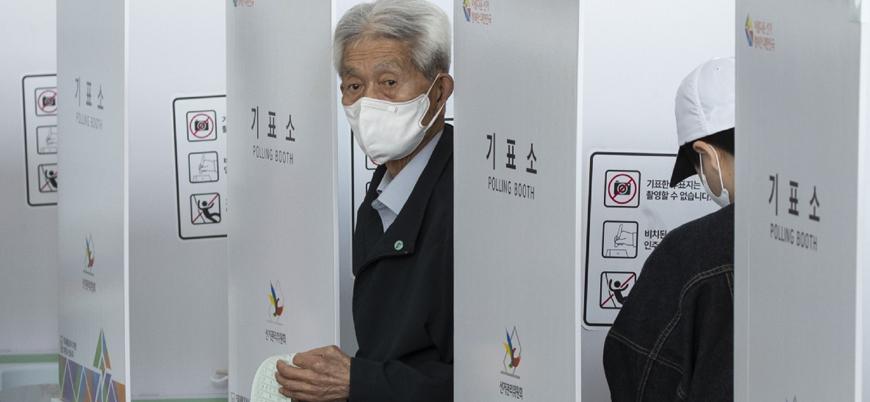 Güney Kore'de koronavirüs gölgesinde seçim