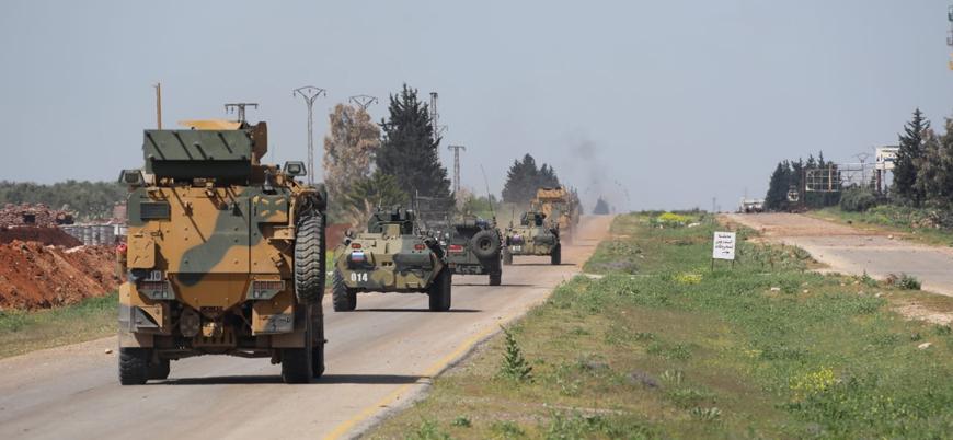 Türkiye ile Rusya İdlib'deki M4 karayolunda dördüncü ortak devriyeyi gerçekleştirdi