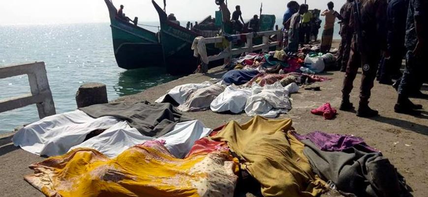 Malezya ülkeye almadı, 2 ay denizde bekledi: Göçmen teknesinde 24 Arakanlı ölü bulundu