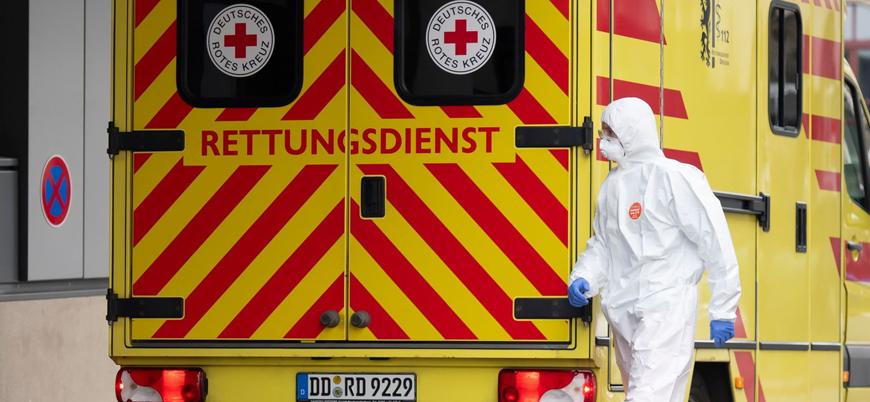 Almanya'da koronavirüsten ölenlerin sayısı 8 bine ulaştı