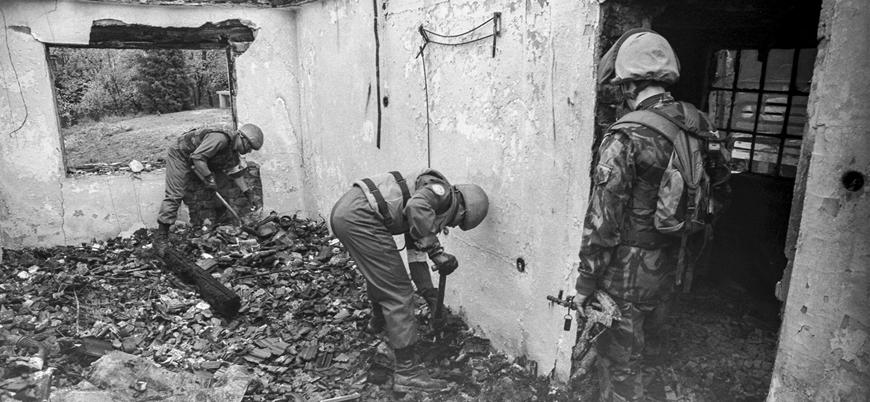Hırvatların Bosna'da gerçekleştirdiği Ahmiçi Katliamı'nın 27'nci yılı