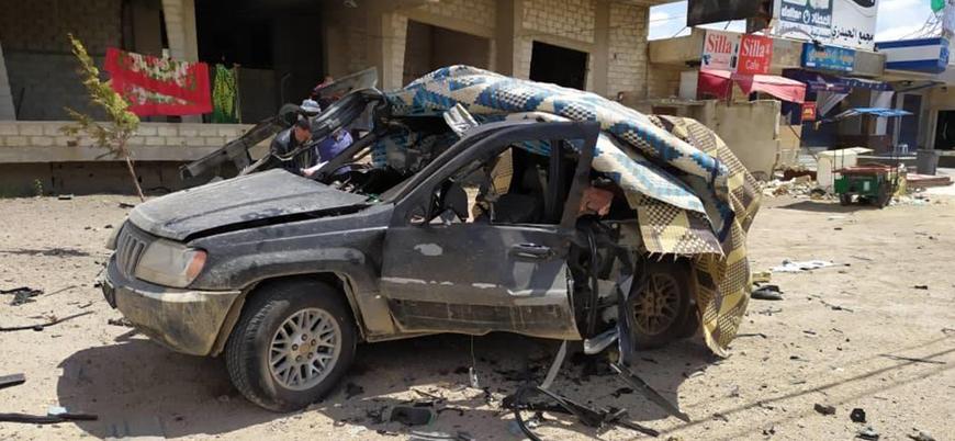 İsrail SİHA'ları Suriye'de Hizbullah liderinin aracını vurdu