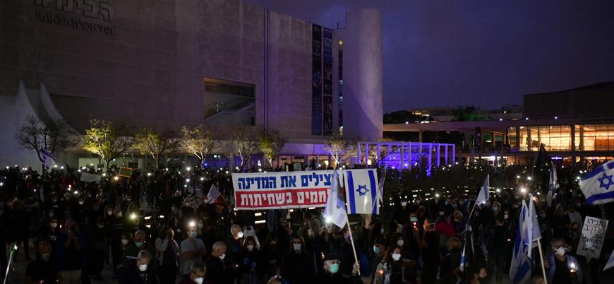 İsrail'de Netanyahu'ya karşı 'yolsuzluk' protestosu