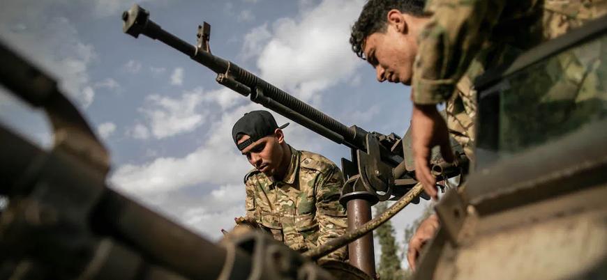 Libya'da Türkiye destekli UMH güçleri Hafter kontrolündeki Tarhuna'ya saldırı başlattı