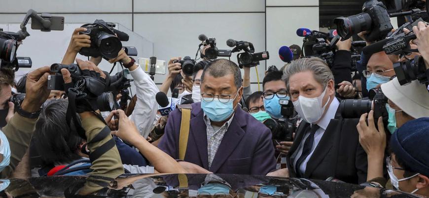 Hong Kong'da önde gelen muhalif isimler gözaltında