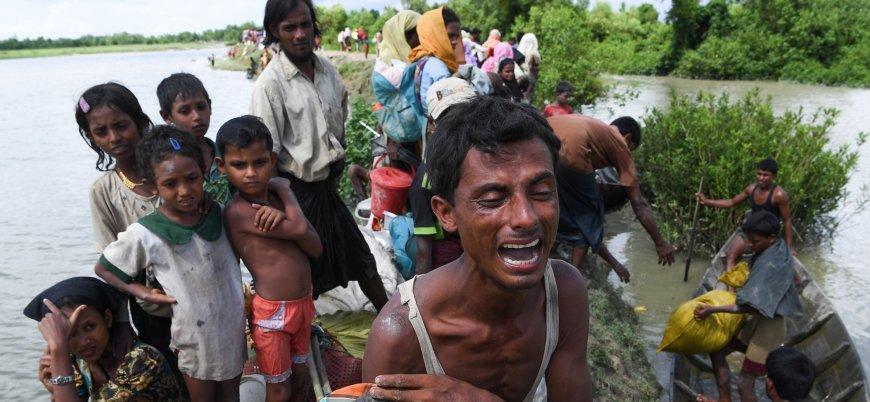 Hindistan'da yaşayan Arakanlılar açlıkla karşı karşıya