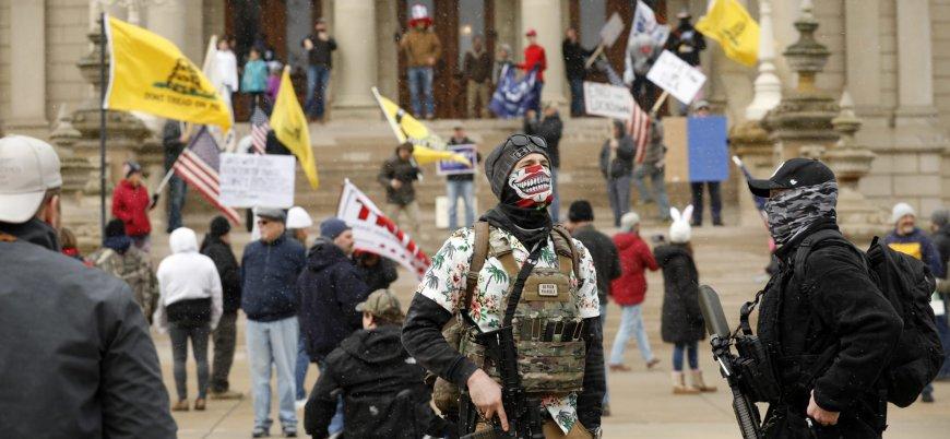 ABD'de karantina karşıtı gösteriler artıyor