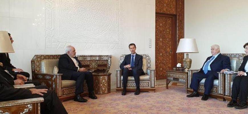 İran Dışişleri Bakanı Zarif bir yıl aradan sonra Esed'i ziyaret etti