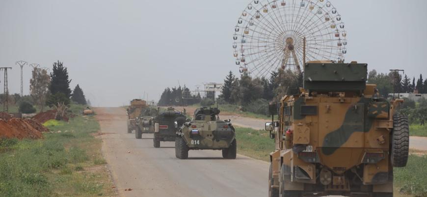 Türkiye ile Rusya'dan İdlib'de beşinci ortak devriye