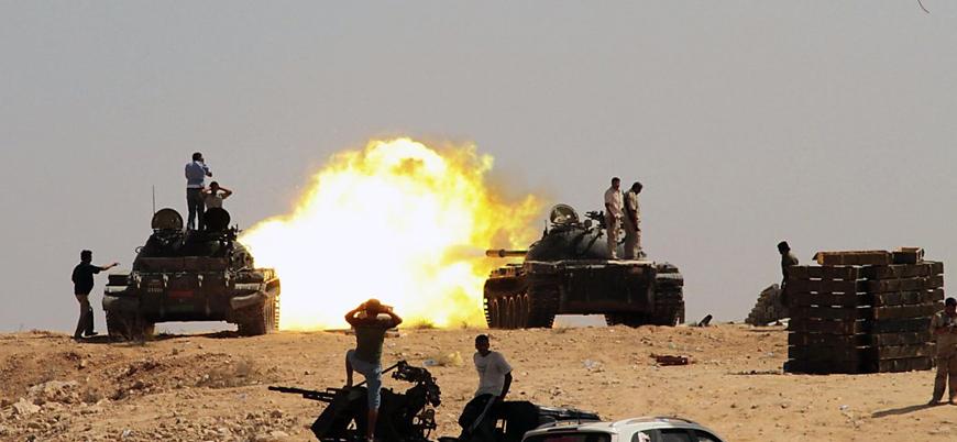 Rusya'dan Libya'daki ilerleyişini sürdüren UMH'ye 'ateşkes' çağrısı