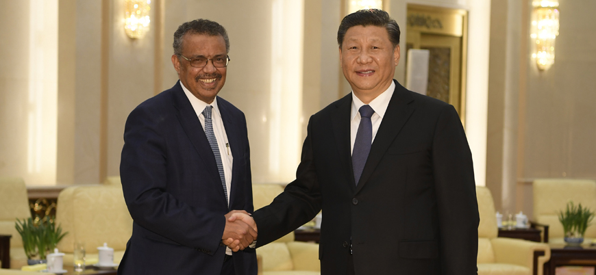 Çin DSÖ'ye 30 milyon dolar bağışlıyor
