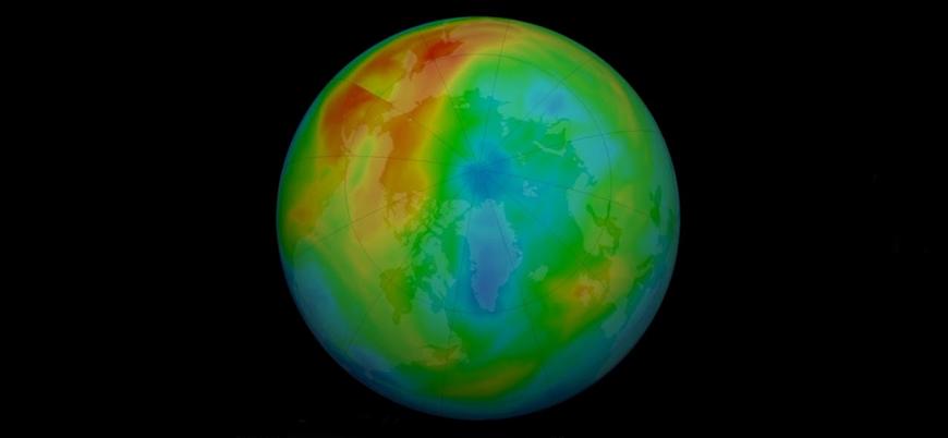 Kuzey Kutbu üzerindeki ozon tabakası deliği kapandı