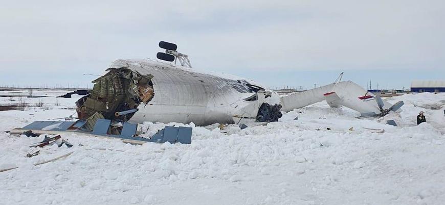 Rusya'da helikopter kazası: En az 6 yaralı