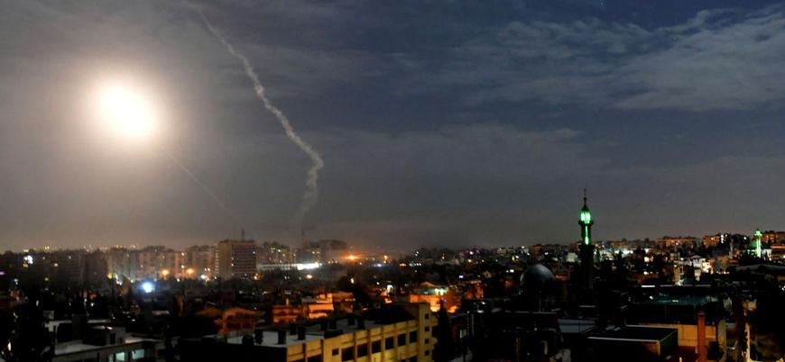 İsrail Suriye'nin başkenti Şam'da hava saldırısı düzenledi