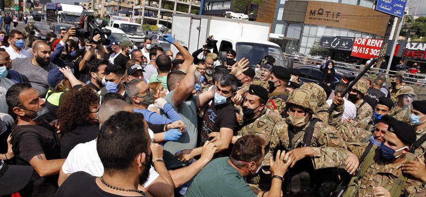 Lübnan'ın Trablus şehrinde gösteriler şiddetleniyor